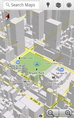 Android Google Maps 5.0