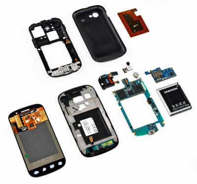 Nexus S teardown