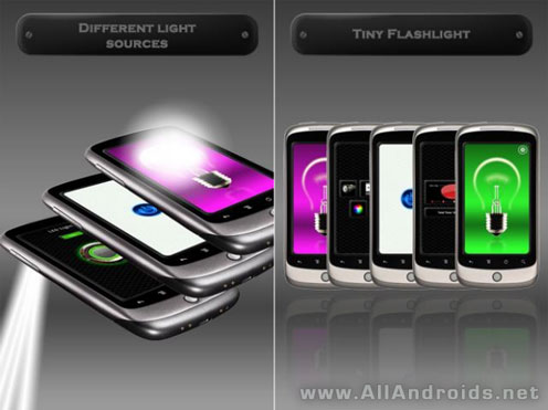 Tiny Flashlight LED фонарик для Android