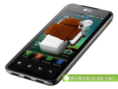 LG Optimus 2X получит Android 4.0