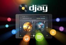 Djay - диджейский пульт для андроид