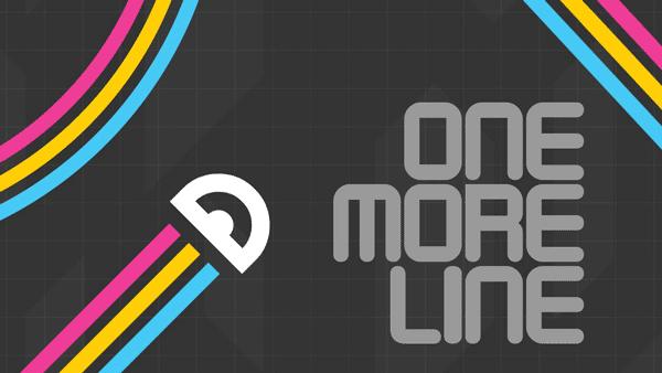 Увлекательная аркада One More Line на андроид
