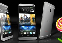 HTC One M7 обновление Android 5.0 (Lollipop)