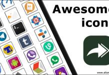 Awesome icons изменяем иконки рабочего стола андроид
