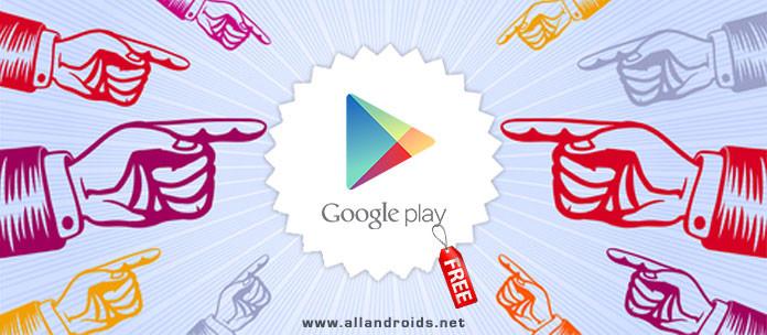 Платные приложения Google Play бесплатно
