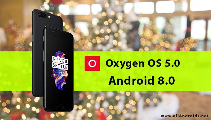 Обновление OnePlus 5 Android Oreo